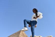 I got the pyramids under my feet :)